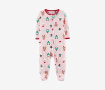 Carter's Toddler Girls' Christmas Sleep & Play Character, Pink