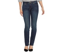 Levi's Women's Perfect Waist Straight-Leg Jeans, Navy