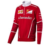 Ferrari Men's Official Team Sweatshirt, Red