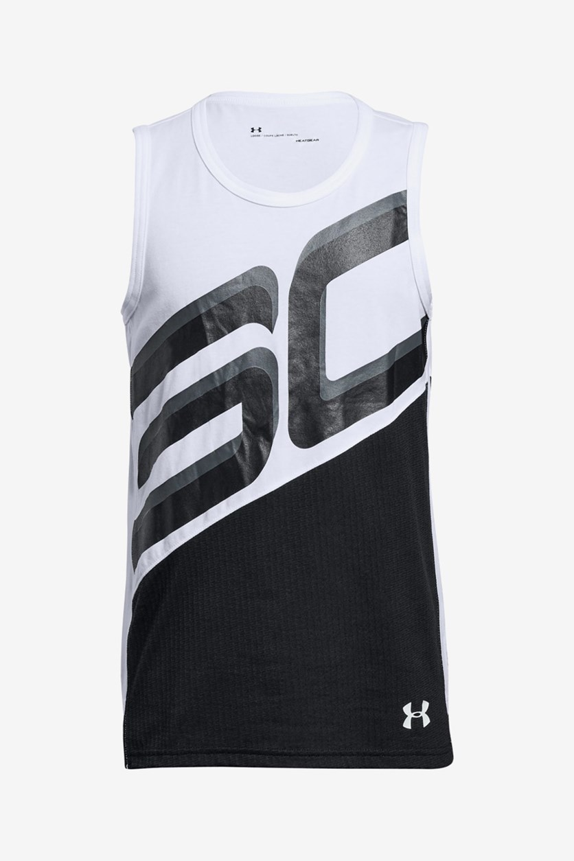Big Boys Tank, White
