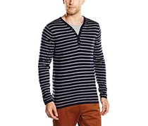 Scotch & Soda Men's Sweatshirt, Navy/Grey
