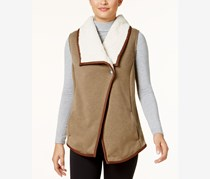 Columbia Winter Wander Fleece-Lined Vest, Tan Combo