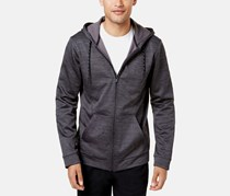 ID Ideology Men's Performance Zip Hoodie, Grey