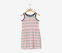 Carters Striped Cotton Tank Dress, Red/White/Blue