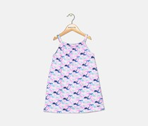 Toddler Girl's Vineyard Vines Whale Print Dress, Pink Combo