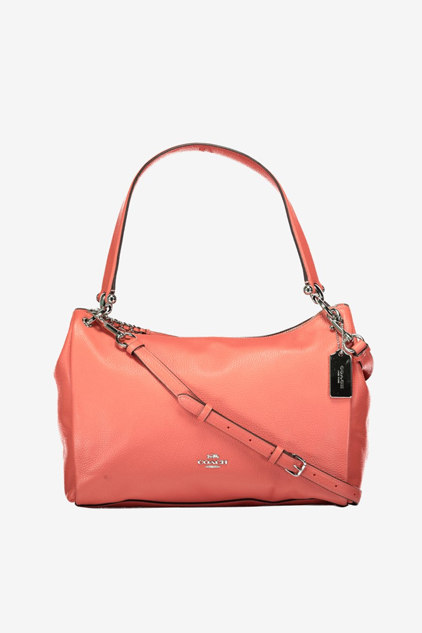 Women's  Mia Shoulder Bag, Coral