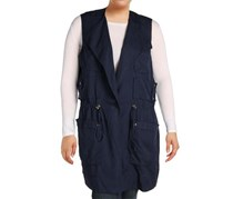 Ralph Lauren Women's Twill Vest, Navy