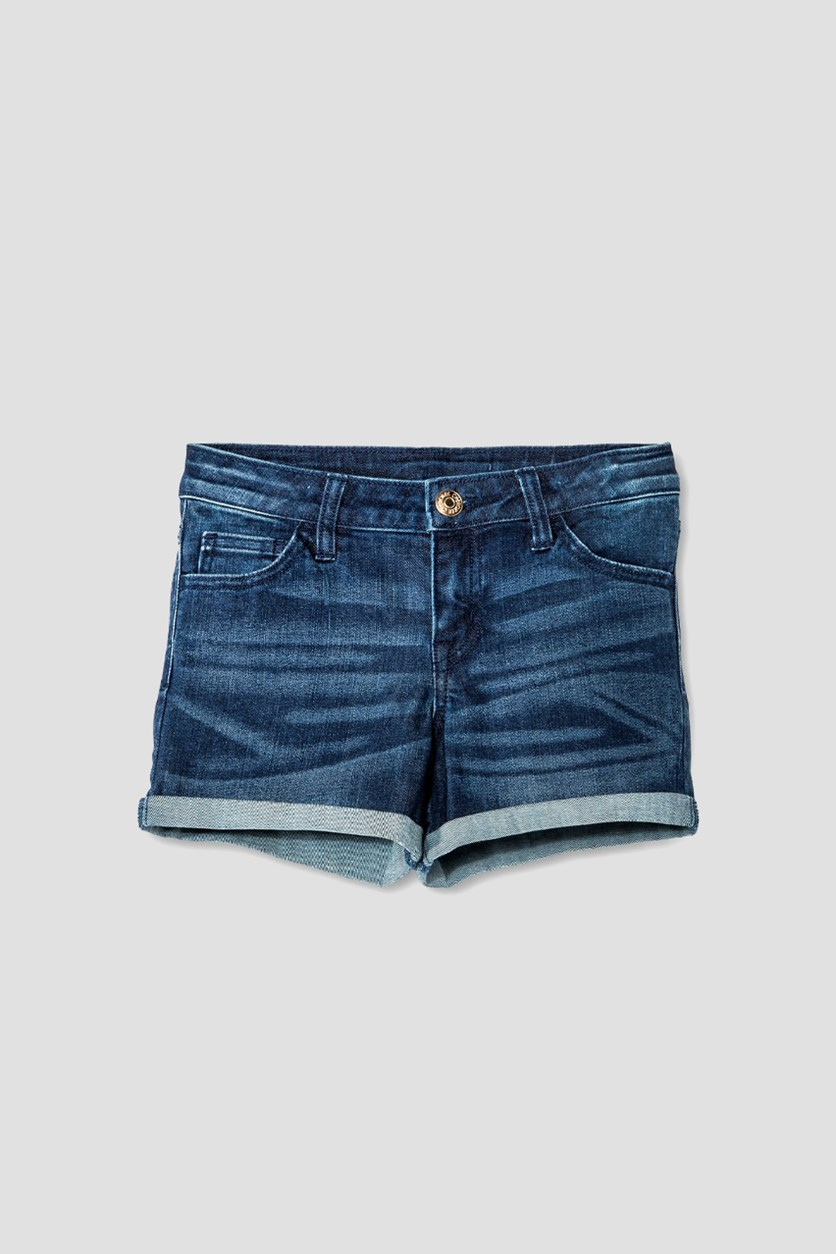 Girls' Low Rise Jean Short, Suzy Wash