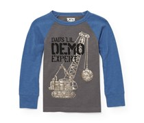 The Children's Place Boy's T-Shirt, Grey/Blue