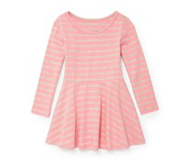 The Children's Place Girls' Printed Knit Dress, Pink
