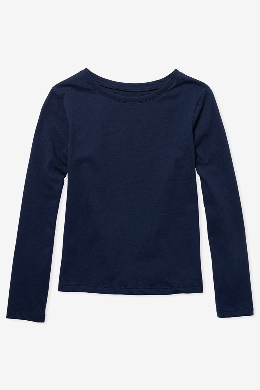 Kids Long Sleeve Shirt, Tidal