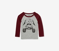 The Children's Place Toddler Boys Graphic Shirt, Smoke
