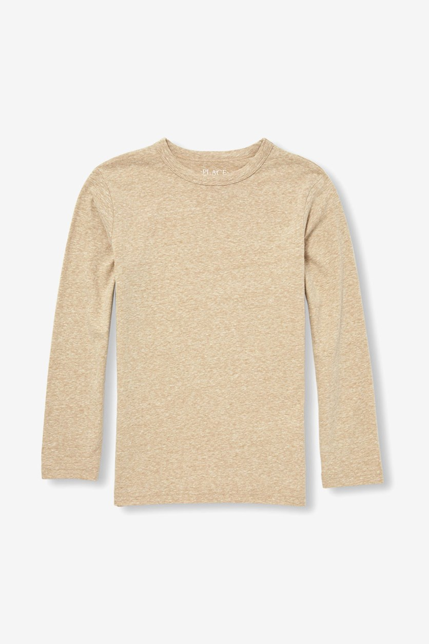 Boys' Speckled Shirt, Granola