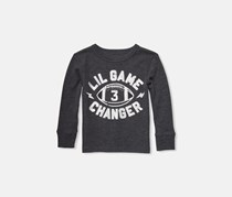 Toddlers Graphic Tops, Black