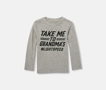 The Children's Place Long Sleeve Tops, Heather Smoke