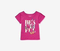 The Childrens Place Beautiful Butterfly Tee, Orchid Dream