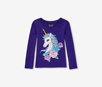 The Children's Place Long Sleeve Top, Solar Storm
