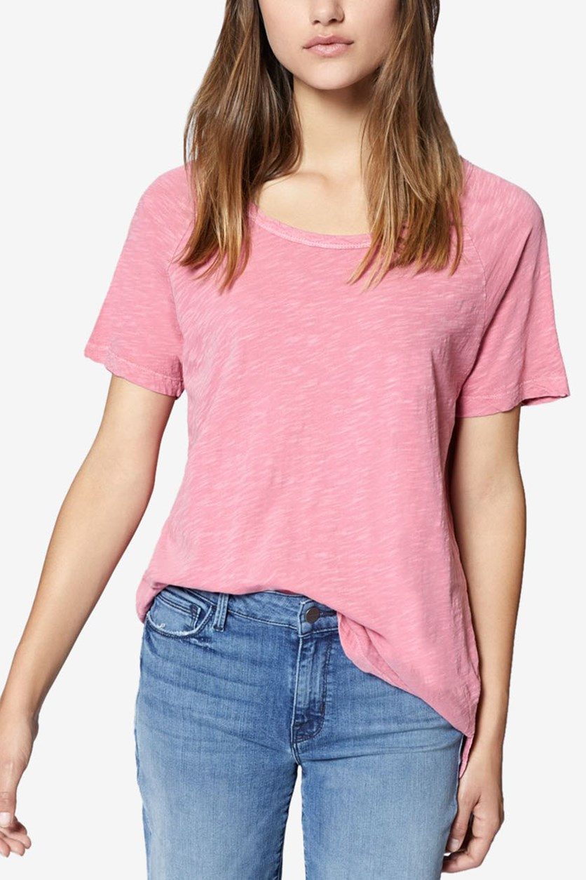 Women's Beacon Slub Short Sleeves T-Shirt, Key Item