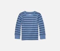 The Children's Place Toddler Boys Striped Print Top, Colony Blue