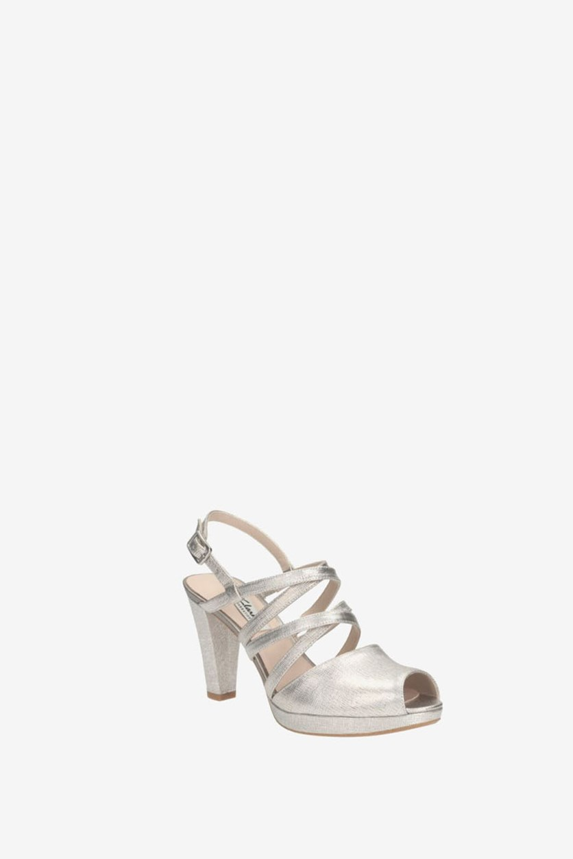 Women's Kendra Cool Sandals, Silver