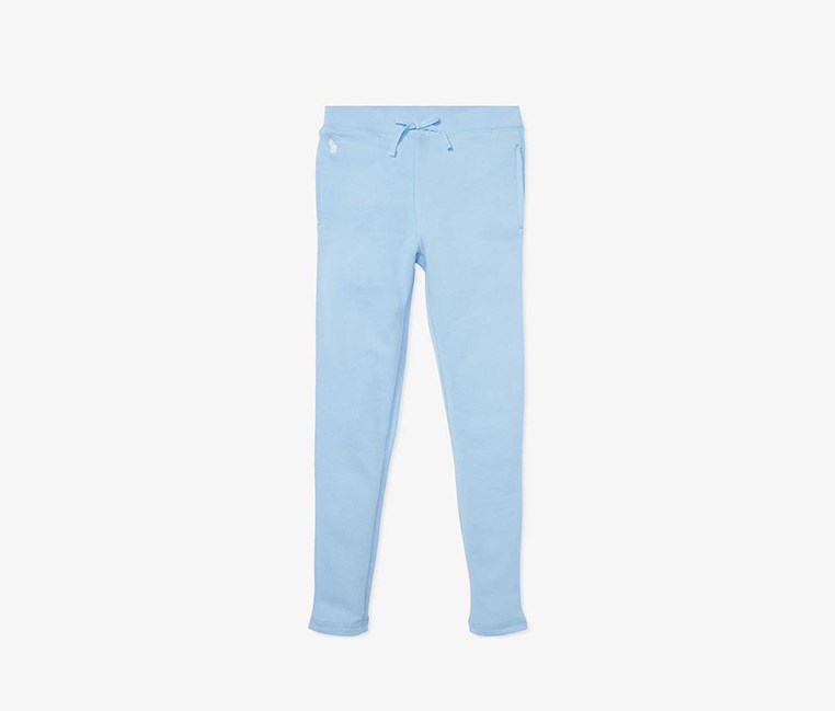 Girl's Drawstring Pants, Blue