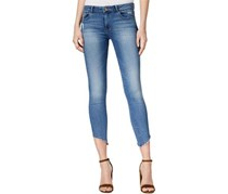 DL1961 Women's Denim Uneven Hem Jeans, Blue