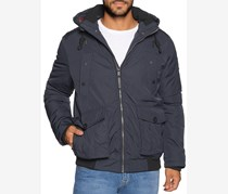 Tom Tailor Blouson With Hood Puffer Jacket, Navy