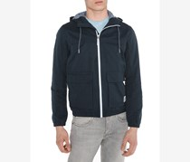Tom Tailor Denim Men's Hooded Jacket, Navy