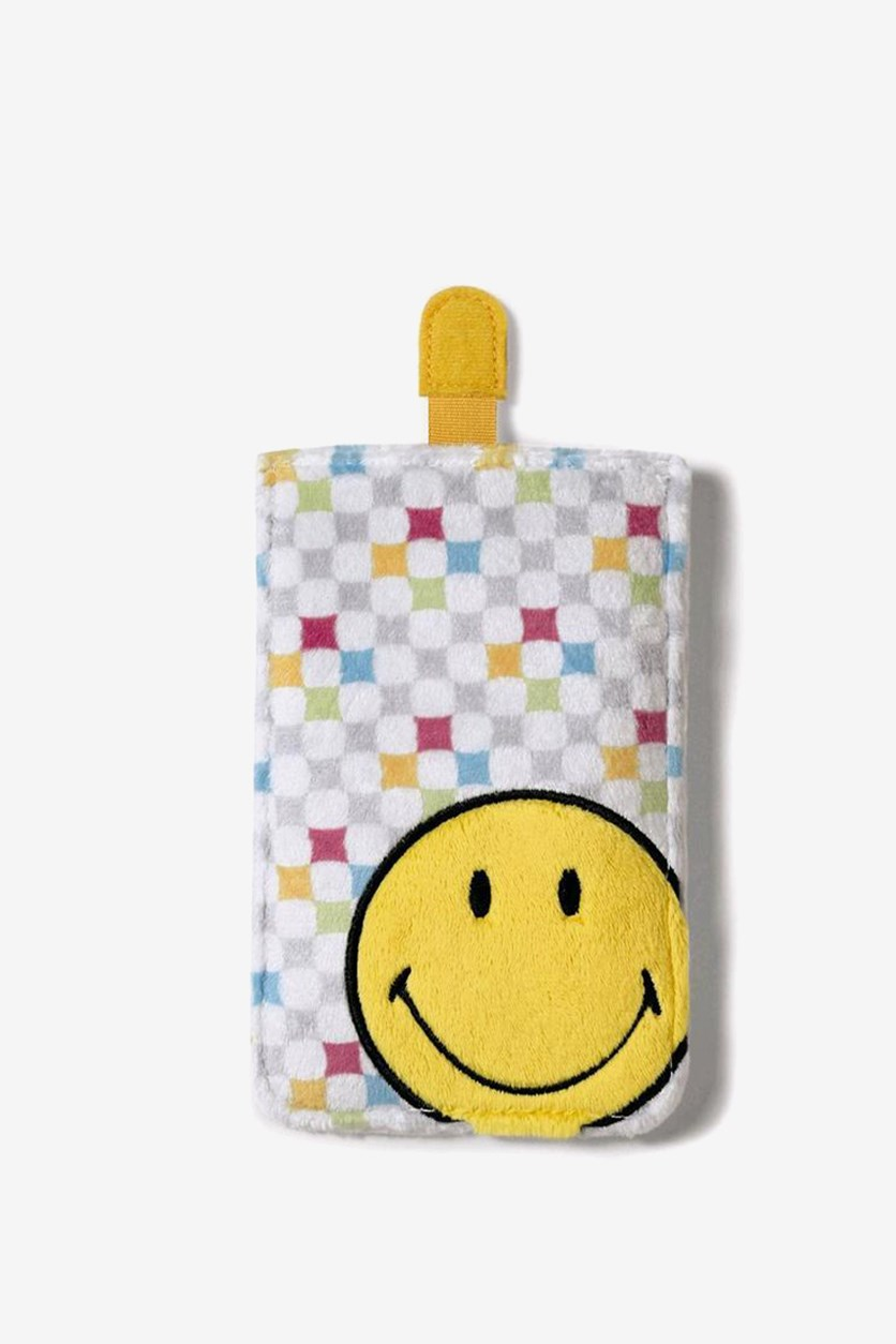Smiley Mobile Phone Case, Yellow