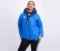 Adidas Women's Coach Jacket, Blue