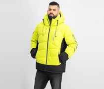 Reebok Men's One Series Down Jacket, Lime Green