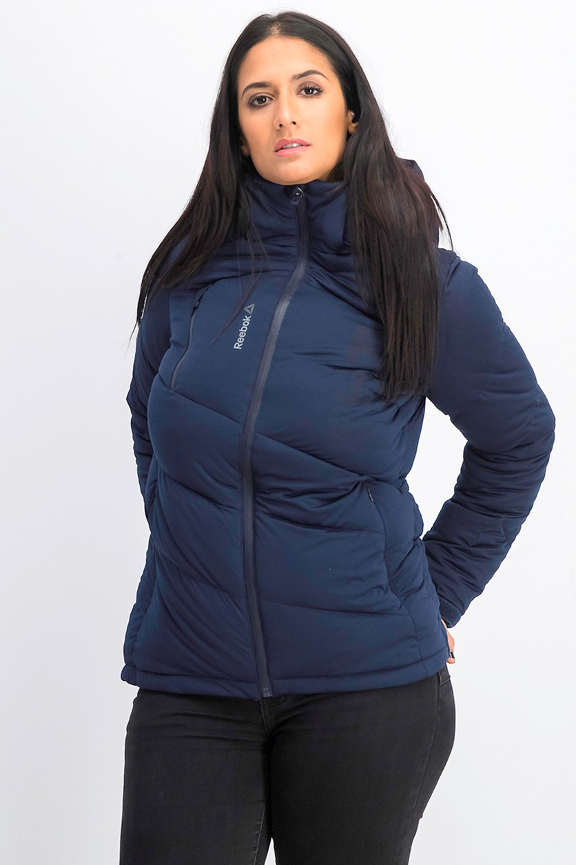 Women's One Series Down Jacket, Navy Blue