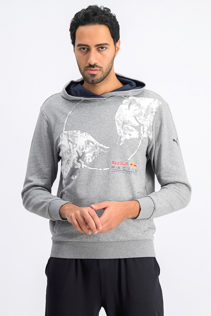 Red Bull Racing Graphic Hoodie, Grey
