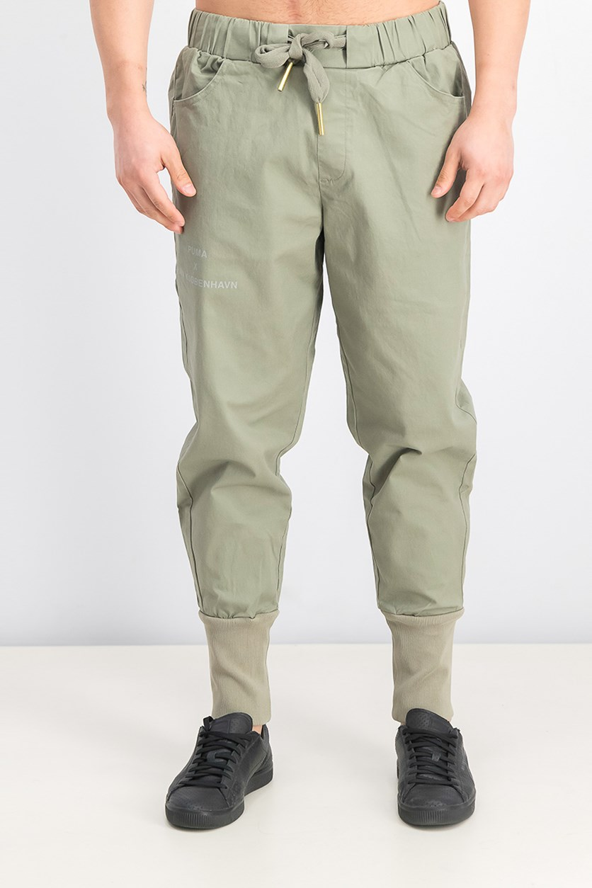 Men's Han Kjobenhavn Pants, Vetiver/Slate Green