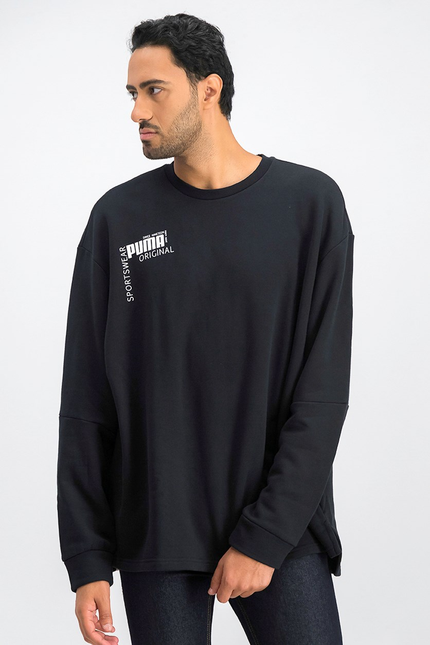 Men's Disrupt Sweatshirt, Black