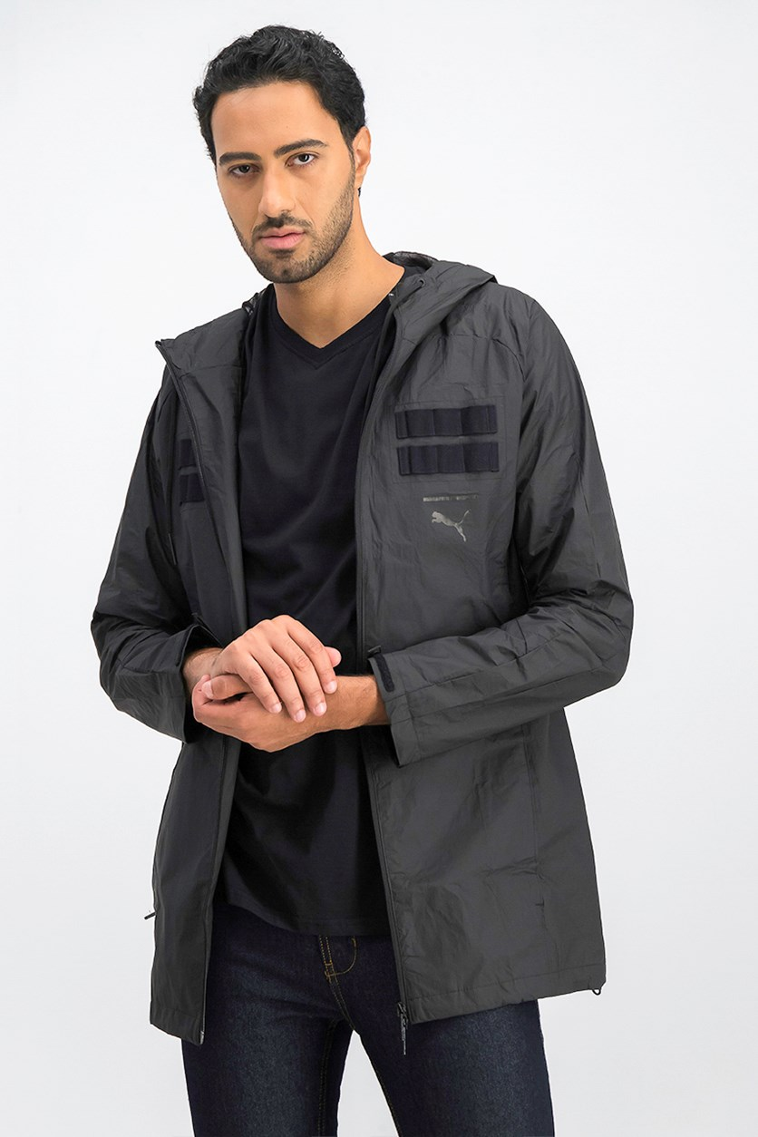 Men's Series Pace LAB Hooded Jacket, Black