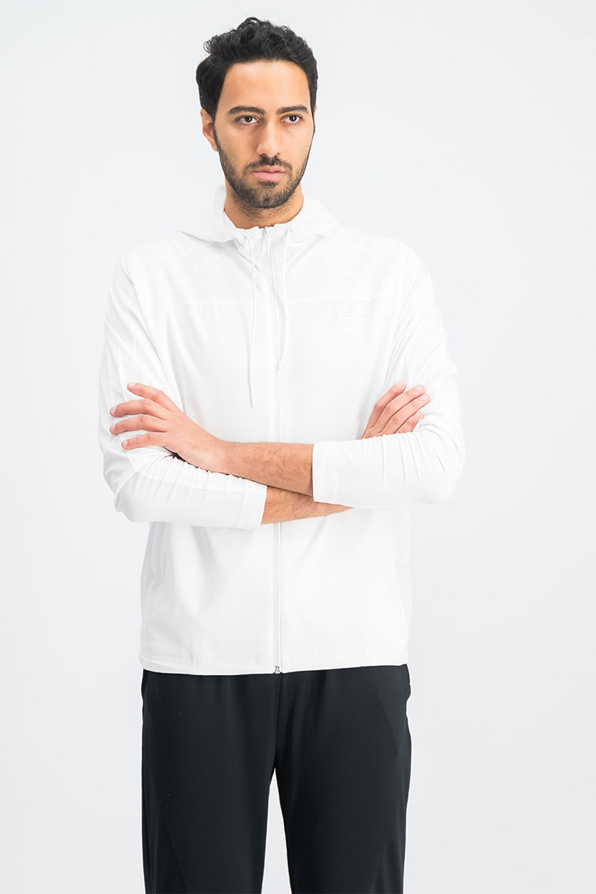 Men's Pace Lab Hoodie Jacket, White