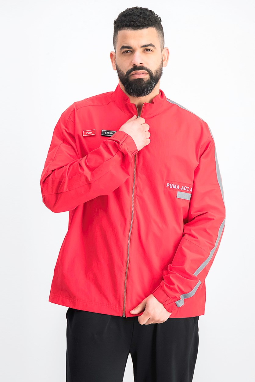 X O.Moscow Track Jacket, Ribbon Red