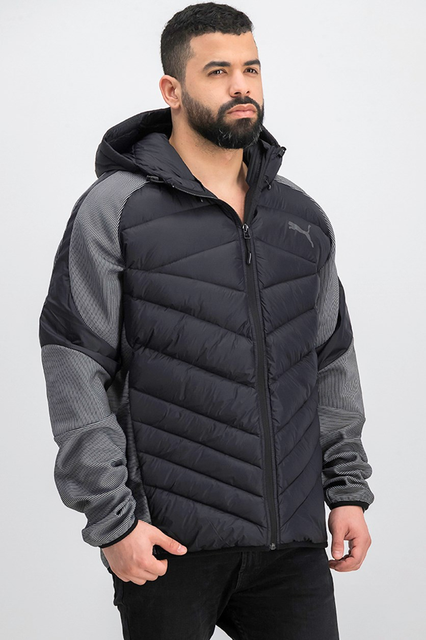 Men's Hybrid 600 Down Jacket, Black