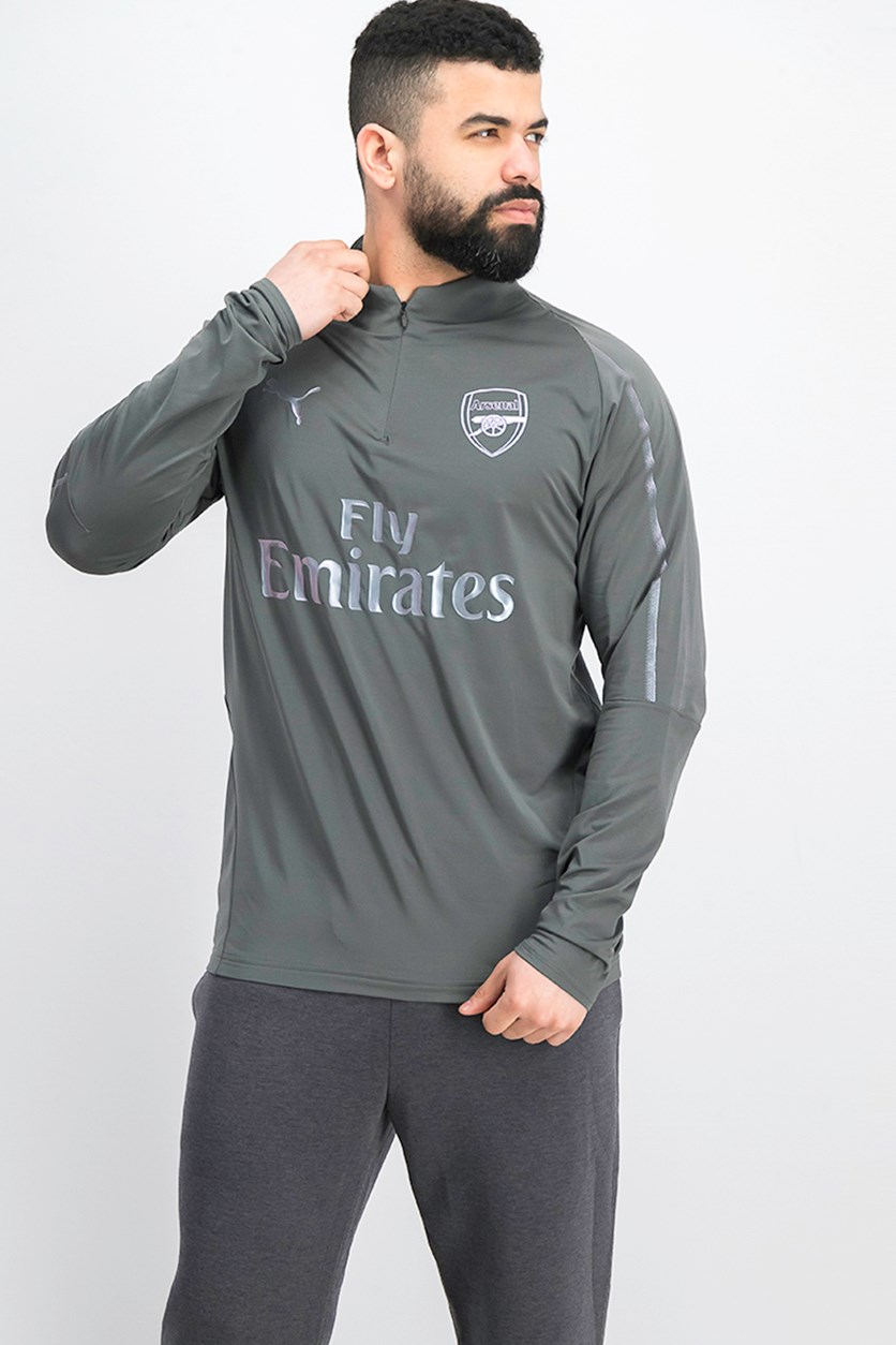 Arsenal Half Zip Training Top, Iron Gate