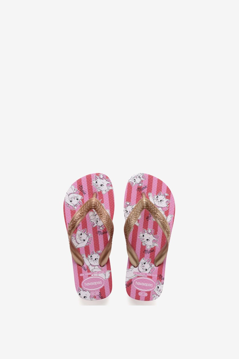 Kids Girl's Sandals Infradito Marie Slipper, Lipstick Rose