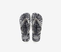 Kids Top Animals Flip Flop, Ice Grey