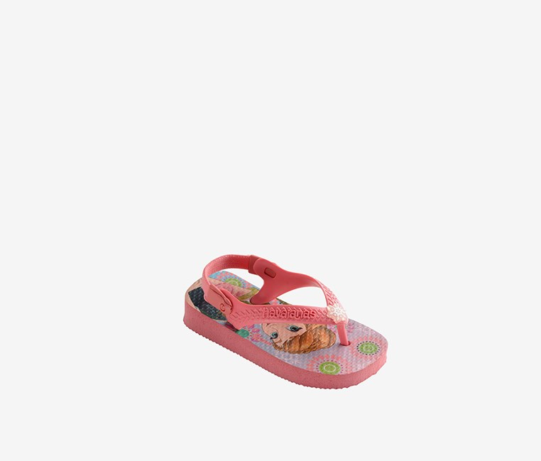 Toddlers Baby Frozen Cf Slippers, Rose