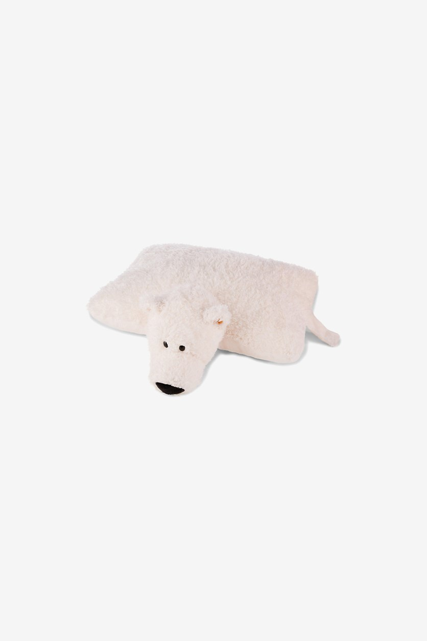 Winter Cuddly Toy Pillow, Polar Bear