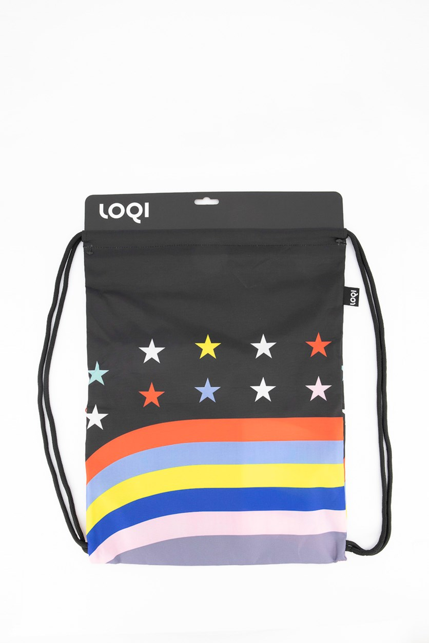 Travel Stars and Stripes Backpack, Black