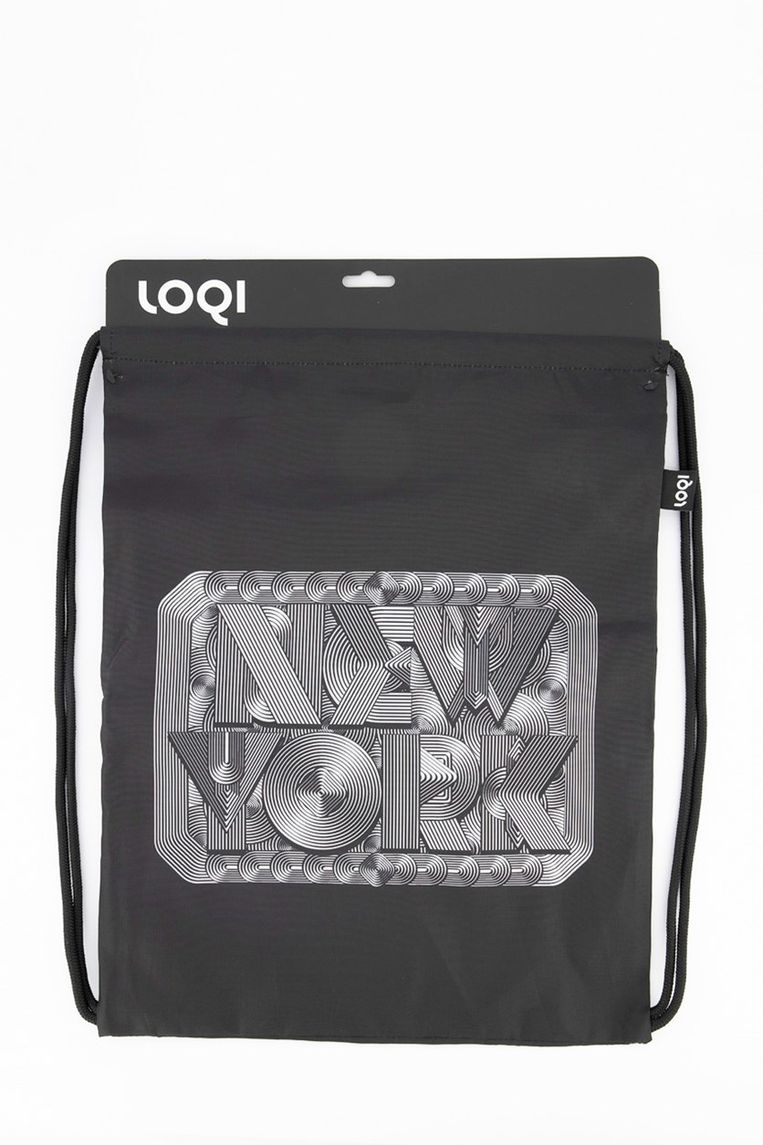Type New York Retro Backpack, Black