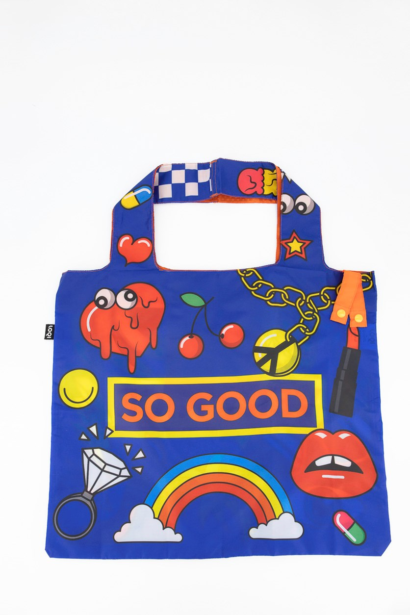 Women's Pop So Good Shopping Bag, Blue Combo
