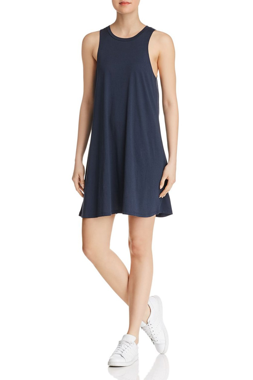 Women's Sleeveless Casual Dress, Midnight