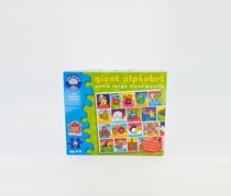 Orchard Toys Giant Alphabet Floor Puzzle, Green Combo
