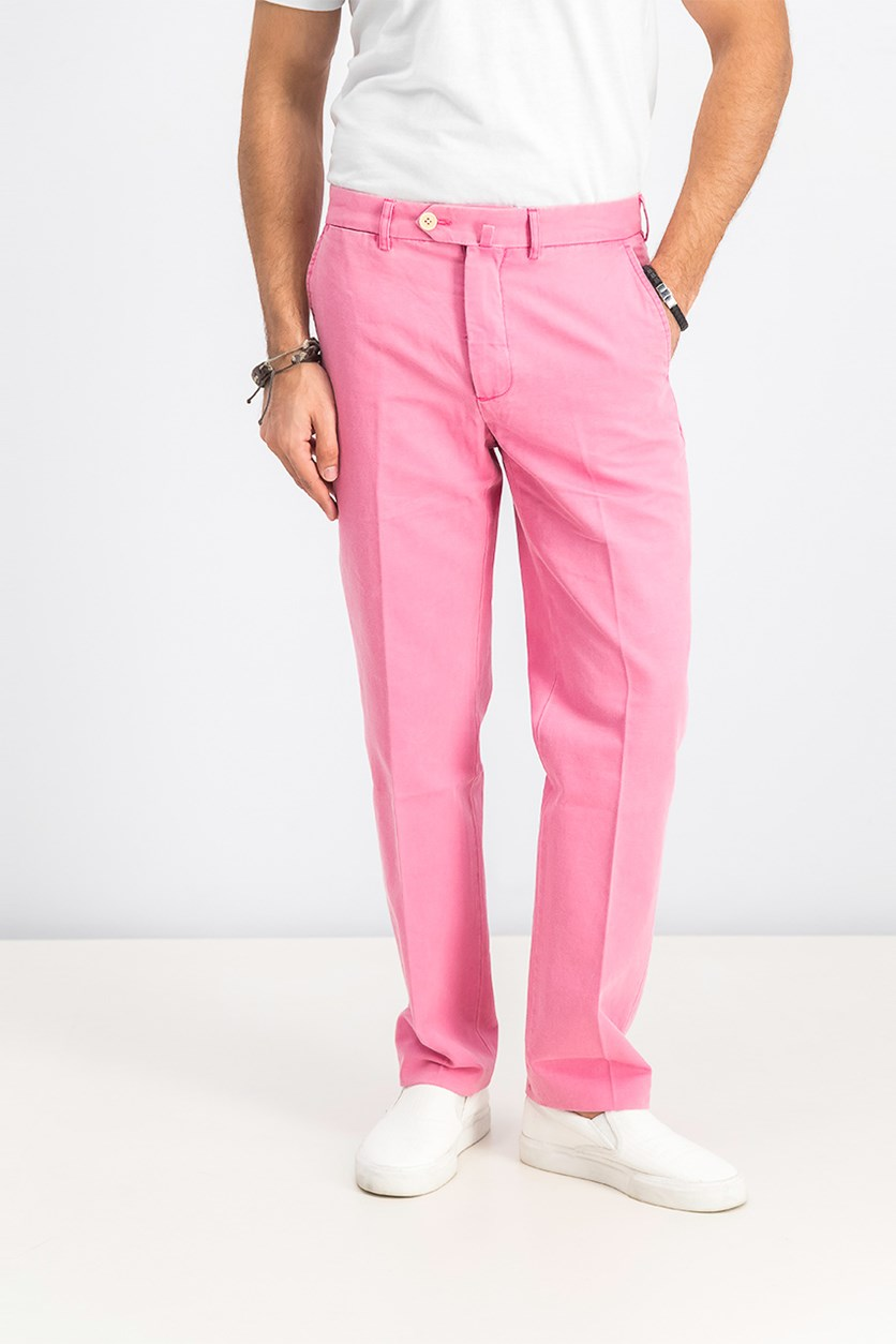 Men's Chino Pants, Pink